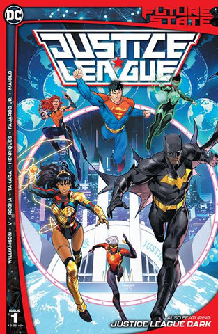 FUTURE STATE JUSTICE LEAGUE #1 (OF 2) CVR A DAN MORA