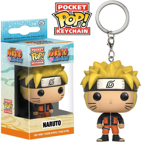 POCKET POP! ANIMATION: NARUTO: NARUTO KEYCHAIN