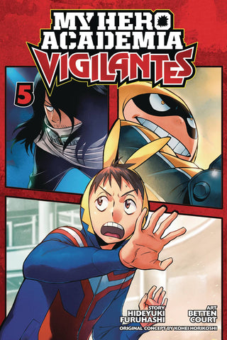 MY HERO ACADEMIA VIGILANTES VOLUME 05
