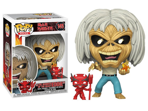 POP! ROCKS: IRON MAIDEN: NUMBER OF THE BEAST SKELETON EDDIE