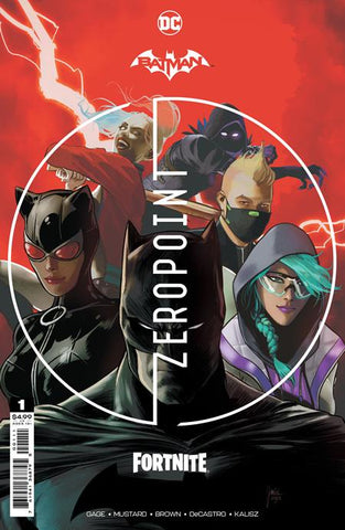 BATMAN FORTNITE ZERO POINT #1 (OF 6) CVR A MIKEL JANIN