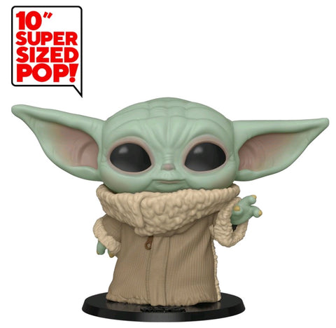 POP! STAR WARS MANDALORIAN: THE CHILD (BABY YODA) 10 INCH