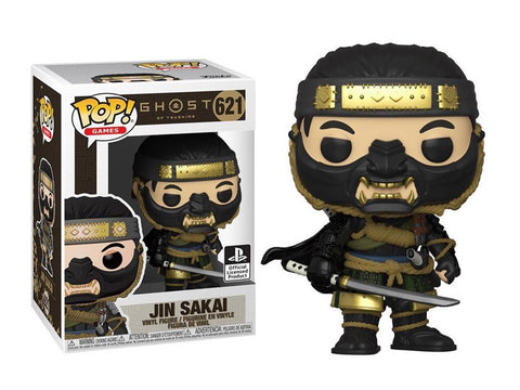 POP! GAMES: GHOST OF TSUSHIMA: JIN SAKAI