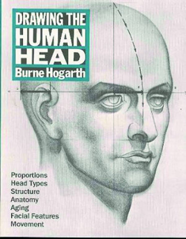 HOGARTHS DRAWING THE HUMAN HEAD