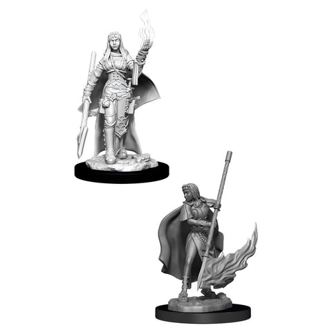 PATHFINDER BATTLES DEEP CUTS UNPAINTED MINI: HUMAN ORACLE (FEMALE)