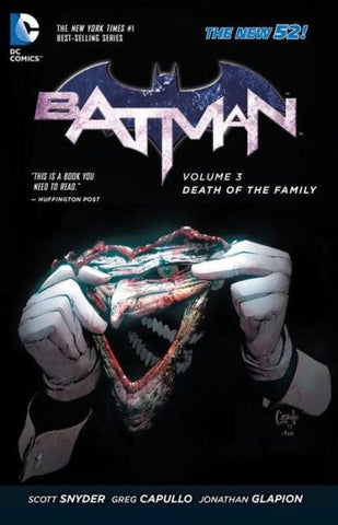 BATMAN VOLUME 03 DEATH OF THE FAMILY