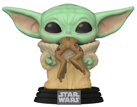 POP! STAR WARS MANDALORIAN: THE CHILD (BABY YODA) WITH FROG