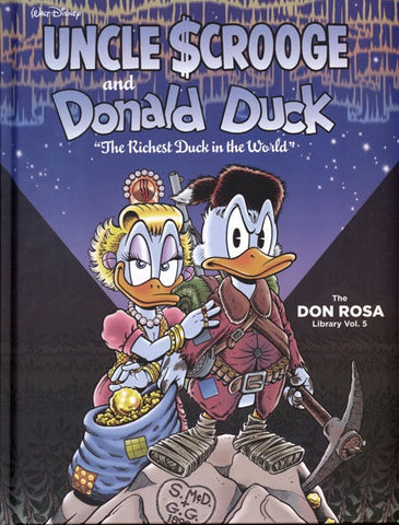 DISNEY ROSA DUCK LIBRARY VOLUME 05 RICHEST DUCK HC