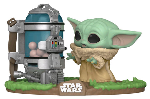 POP! STAR WARS MANDALORIAN: CHILD WITH EGG CANISTER