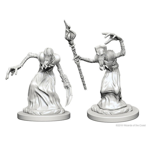 DUNGEONS & DRAGONS NOLZUR'S MARVELOUS UNPAINTED MINI: MINDFLAYERS