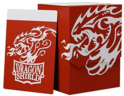 DRAGON SHIELD DECK SHELL - RED