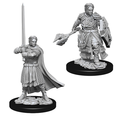 DUNGEONS & DRAGONS NOLZUR'S MARVELOUS UNPAINTED MINI: HUMAN CLERIC (MALE)