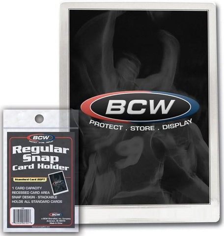 BCW REGULAR SNAP CARD HOLDER