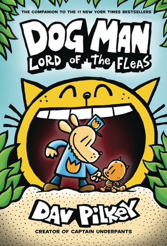 DOG MAN VOLUME 05 LORD OF FLEAS HC