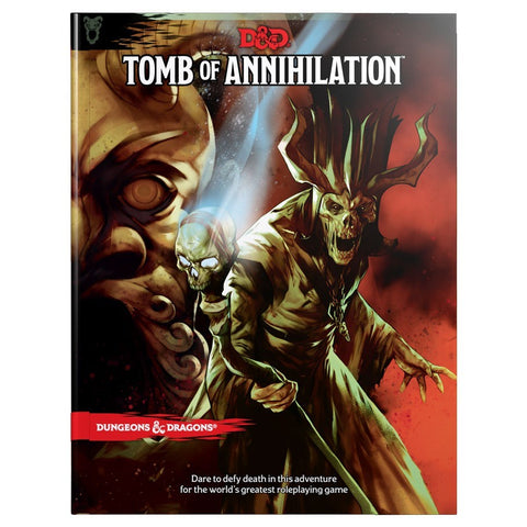 DUNGEONS & DRAGONS TOMB OF ANNIHILATION HC