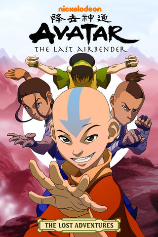 AVATAR LAST AIRBENDER THE LOST ADVENTURES