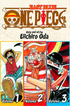 ONE PIECE VOLUME 01 (3 in 1 EDITION)