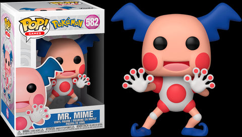 POP! GAMES: POKEMON: MR MIME