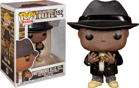 POP! ROCKS: NOTORIOUS BIG BLACK FEDORA