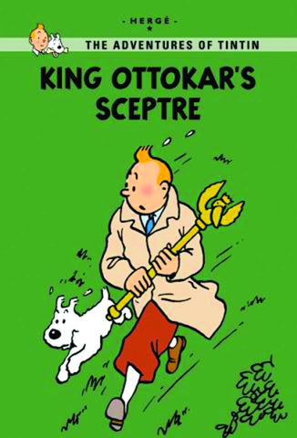 TINTIN YOUNG READER EDITION KING OTTOKARS SCEPTRE