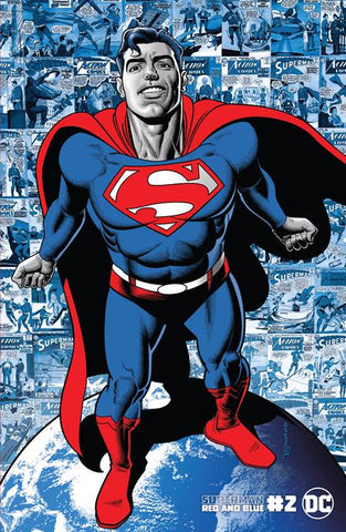 SUPERMAN RED & BLUE #2 (OF 6) CVR B BRIAN BOLLAND VARIANT