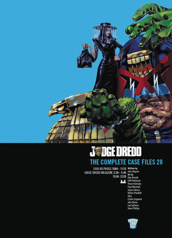 JUDGE DREDD COMPLETE CASE FILES VOLUME 28