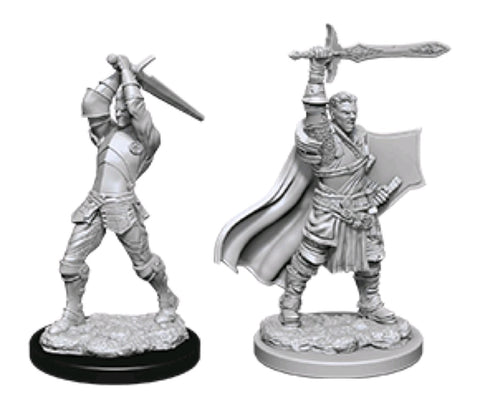 DUNGEONS & DRAGONS NOLZUR'S MARVELOUS UNPAINTED MINI: HUMAN PALADIN (MALE) #2