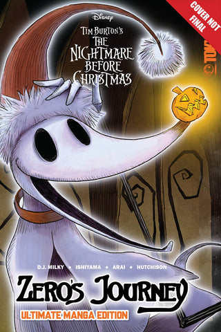 DISNEY MANGA NIGHTMARE XMAS ZEROS JOURNEY ULTIMATE EDITION