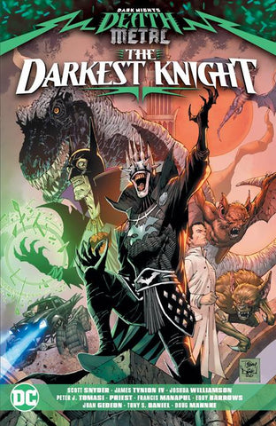 DARK NIGHTS DEATH METAL THE DARKEST KNIGHT