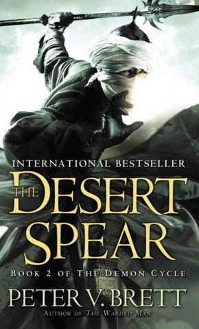 DESERT SPEAR BY PETER V BRETT