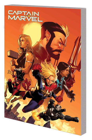 CAPTAIN MARVEL VOLUME 05 NEW WORLD