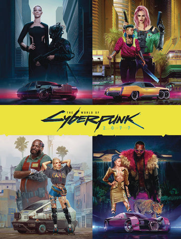 WORLD OF CYBERPUNK 2077 DELUXE EDITION HC