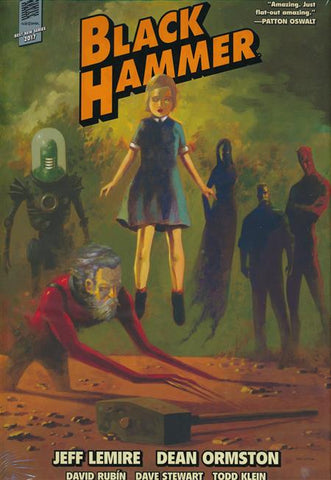 BLACK HAMMER LIBRARY EDITION VOLUME 01 HC