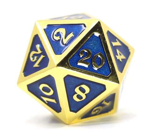DIE HARD GOLD BLUE ROLLDOWN METAL D20