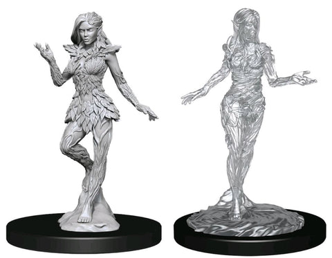 PATHFINDER BATTLES DEEP CUTS UNPAINTED MINI: NYMPH AND DRYAD