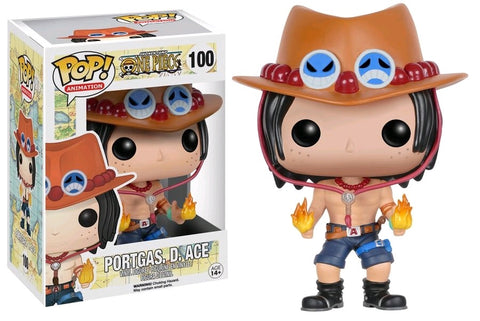 POP! ANIMATION: ONE PIECE: PORTGAS D ACE