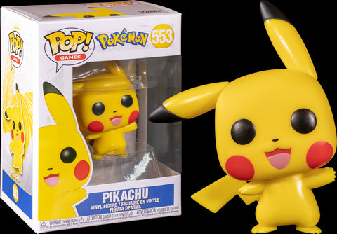 POP! GAMES: POKEMON: PICACHU