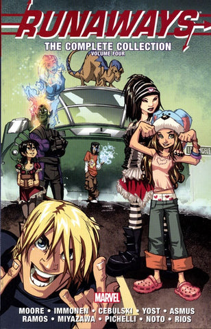 RUNAWAYS COMPLETE COLLECTION VOLUME 04