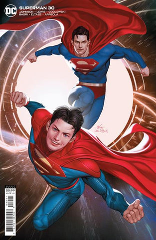 SUPERMAN #30 CVR B INHYUK LEE CARD STOCK VARIANT