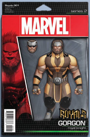 ROYALS #1 CHRISTOPHER ACTION FIGURE VARIANT