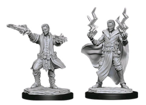 DUNGEONS & DRAGONS NOLZUR'S MARVELOUS UNPAINTED MINI: HUMAN SORCERER (MALE) #2