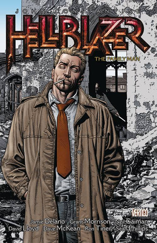HELLBLAZER VOLUME 04 THE FAMILY MAN