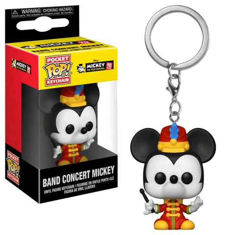 POCKET POP! DISNEY: 90TH ANNIVERSARY BAND CONCERT MICKEY MOUSE KEYCHAIN