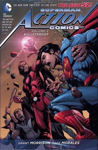 SUPERMAN ACTION COMICS VOLUME 02 BULLETPROOF HC