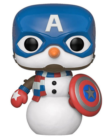 POP! MARVEL: CAPTAIN AMERICA SNOWMAN