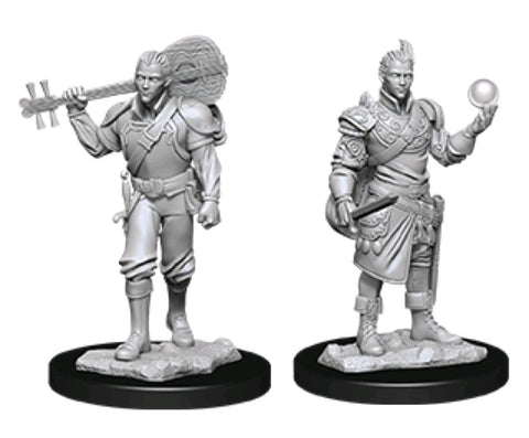 DUNGEONS & DRAGONS NOLZUR'S MARVELOUS UNPAINTED MINI:  HALF ELF BARD
