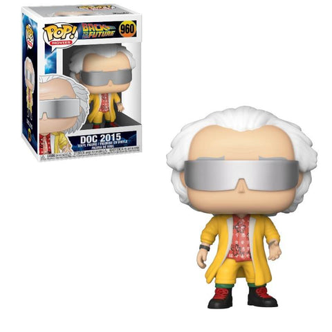 POP! MOVIES: BACK TO THE FUTURE: DR EMMETT BROWN 2015