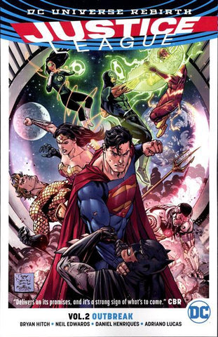 JUSTICE LEAGUE VOLUME 02 OUTBREAK (REBIRTH)