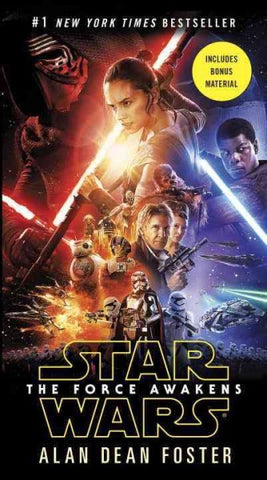 STAR WARS THE FORCE AWAKENS BY ALAN DEAN FOSTER