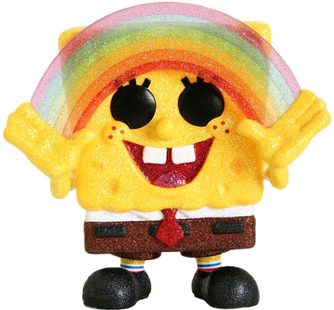 POP! ANIMATION: SPONGEBOB RAINBOW DIAMOND GLITTER